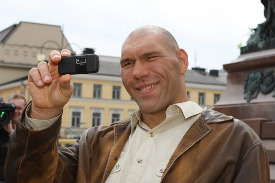 NIKOLAI VALUEV FROM RUSSIA DURING PRESS CONFERENCE BEFORE HIS WBA-WORLD CHAMPION MATCH AGAINST RUSLAN CHAGAEV FROM RUSSIA. HELSINKI FINLAND 28th APRIL 2009. Photo:Matti Raivio/EASTPRESS